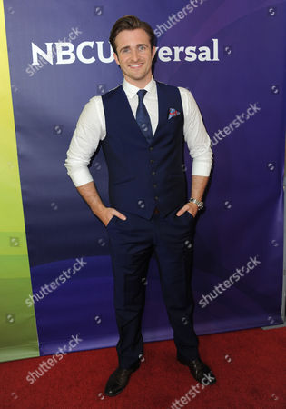 Matt Hussey attends NBCUniversal's 2012 Summer Press Tour at the Beverly Hilton Hotel, in Beverly Hills, Calif