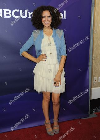 Tracy McMillan attends NBCUniversal's 2012 Summer Press Tour at the Beverly Hilton Hotel, in Beverly Hills, Calif