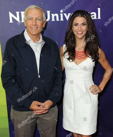 Stock Picture of General Wesley Clark and Samantha Harris attend NBCUniversal's 2012 Summer Press Tour at the Beverly Hilton Hotel, in Beverly Hills, Calif