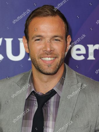 Ernesto Arguello attends NBCUniversal's 2012 Summer Press Tour at the Beverly Hilton Hotel, in Beverly Hills, Calif