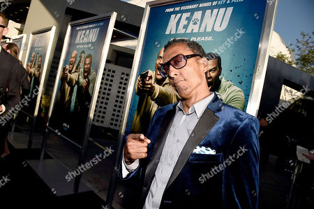 """Andre Royo seen at New Line Cinema Los Angeles Premiere of """"Keanu"""" at ArcLight Cinerama Dome Theater, in Hollywood"""