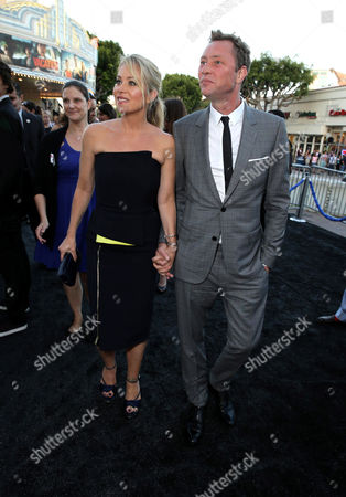 """Christina Applegate and Martyn LeNoble seen at the New Line Cinema presents the Premiere of """"Vacation"""" held at Regency Village Theatre, in Westwood, Calif"""