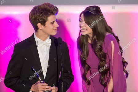 Editorial photo of No Bull Teen Video Awards, Los Angeles, USA