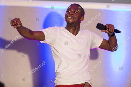 Singer-songwriter Marcus Canty performs on stage during the No Bull Teen Video Awards at the Westin LAX Hotel on in Los Angeles