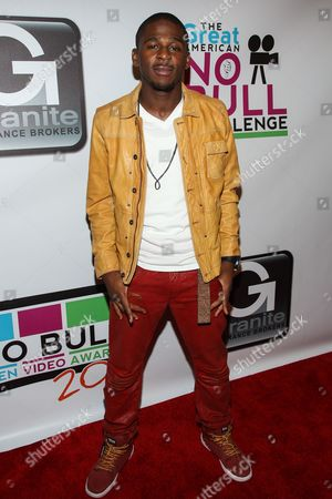 Singer-songwriter Marcus Canty arrives at the No Bull Teen Video Awards at the Westin LAX Hotel on in Los Angeles