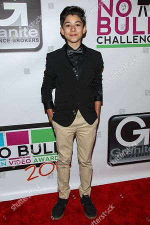 Actor Fabrizio Guido arrives at the No Bull Teen Video Awards at the Westin LAX Hotel on in Los Angeles