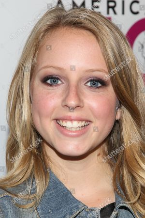 Stock Photo of Actress Makena Weaver arrives at the No Bull Teen Video Awards at the Westin LAX Hotel on in Los Angeles