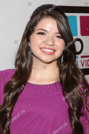 Stock Photo of Actress Jadin Gould arrives at the No Bull Teen Video Awards at the Westin LAX Hotel on in Los Angeles