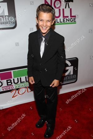 Actor Noah Urrea arrives at the No Bull Teen Video Awards at the Westin LAX Hotel on in Los Angeles