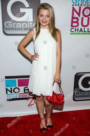 Stock Photo of Laci Kay arrives at the No Bull Teen Video Awards at the Westin LAX Hotel on in Los Angeles