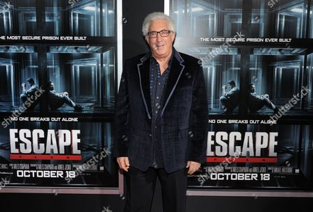 """Producer Norton Herrick attends the premiere of """"Escape Plan"""" at the Regal E-Walk on in New York"""