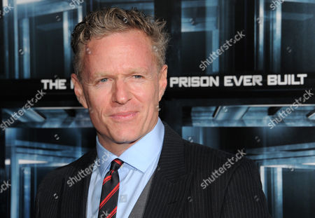 """Screenwriter Miles Chapman attends the premiere of """"Escape Plan"""" at the Regal E-Walk on in New York"""
