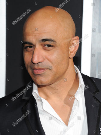 """Stock Image of Actor Faran Tahir attends the premiere of """"Escape Plan"""" at the Regal E-Walk on in New York"""