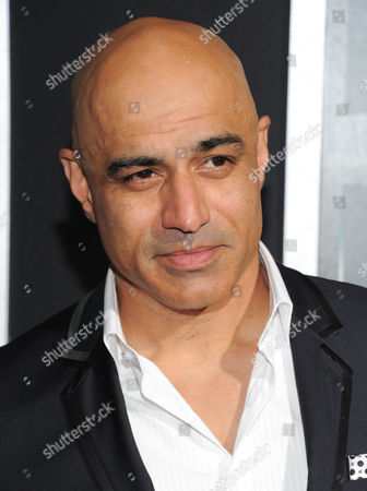 """Actor Faran Tahir attends the premiere of """"Escape Plan"""" at the Regal E-Walk on in New York"""