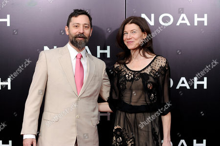 "Writer Ari Handel attends the premiere of ""Noah"" at the Ziegfeld Theatre on in New York"