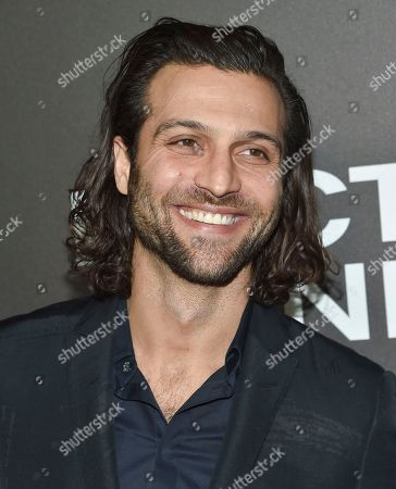 """Alexander DiPersia attends the premiere of """"Nocturnal Animals"""" at the Paris Theatre, in New York"""