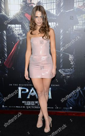 "Alexandra Siegel attends the premiere of ""Pan"" at the Ziegfeld Theatre, in New York"