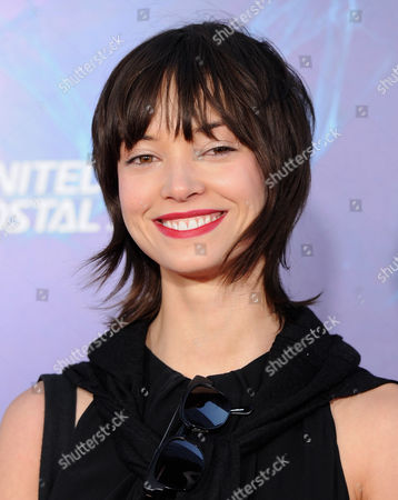 """Stock Photo of Actress Julia Morrison attends the premiere of """"The Amazing Spider-Man 2"""" at the Ziegfeld Theatre on in New York"""