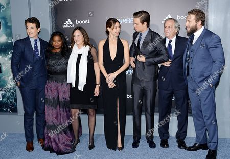 """Editorial image of NY Premiere Of """"The Divergent Series: Insurgent"""", New York, USA"""