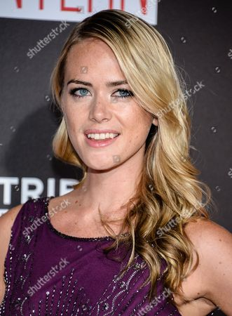 """Theodora Woolley attends the premiere of """"The Intern"""" at the Ziegfeld Theatre, in New York"""