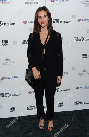 """Jodie Snyder attends the premiere of """"The Two Faces of January"""" at the Landmark Sunshine Theater, in New York"""