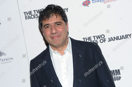 """Hossein Amini arrives at the New York premiere of """"The Two Faces of January"""" at the Sunshine Landmark on"""