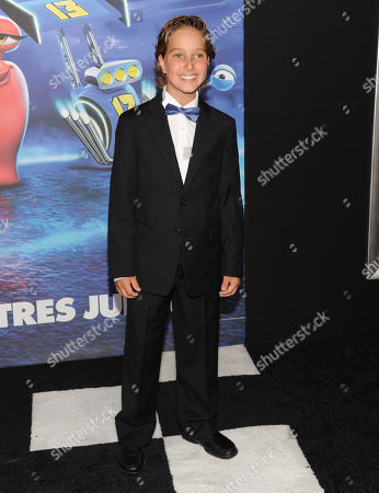 """Actor Aaron Berger attends the premiere of DreamWorks' """"Turbo"""" at the AMC Loews Lincoln Square on in New York"""