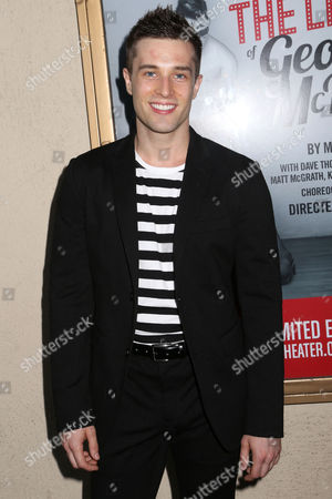 """Choreographer Paul McGill arrives at the Broadway opening night of the MCC Theater """"The Legend of Georgia McBride"""" at The Lucille Lortel Theatre, in New York"""