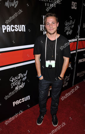 """Shawn Pyfrom arrives at PacSun and DC Shoes """"Golden State of Mind"""" event held at Rob Dyrdek's Fantasy Factory on in Los Angeles"""
