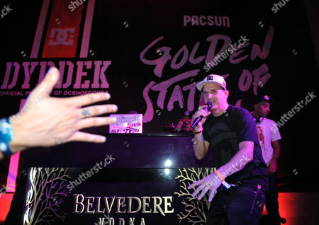 "Rob Dyrdek speaks onstage at PacSun and DC Shoes ""Golden State of Mind"" event held at Rob Dyrdek's Fantasy Factory on in Los Angeles"