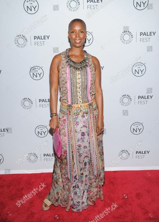 "Sidra Smith attends PaleyFest: Made In NY - ""Orange Is The New Black"" panel discussion at The Paley Center for Media on in New York"
