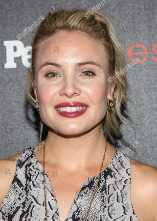 """Leah Pipes attends the PEOPLE """"Ones to Watch"""" Party at The Line Hotel, in Los Angeles"""
