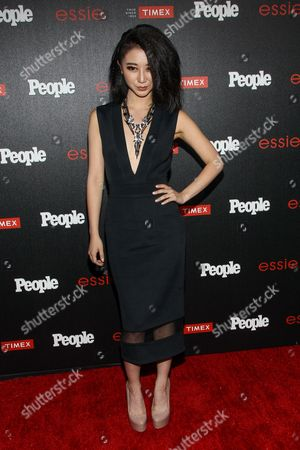 """Annie Q. attends the PEOPLE """"Ones to Watch"""" Party at The Line Hotel, in Los Angeles"""