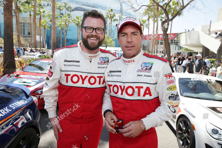 Rutledge Wood and Mark Steines at People Magazine Presentation of The PEOPLE Pole Award at the 2013 Toyota Grand Prix of Long Beach, on Friday, April, 19th, 2013 in Long Beach, Calif