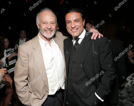 Director Michael Radford and Osvaldo Rios attend the premiere of 'Elsa & Fred' at Hyde Lounge on in Los Angeles