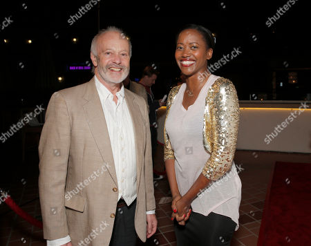 Director Michael Radford and Erika Alexander attend the premiere of 'Elsa & Fred' at the Sundance Cinema on in Los Angeles