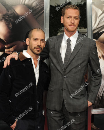"""Lee Sternthal, left, and Brian Klugman attend the premiere of """"The Words"""" at ArcLight Cinemas, in Los Angeles"""