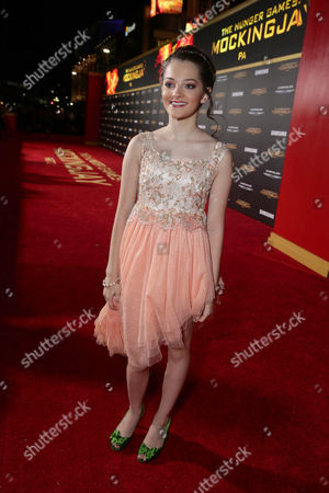 Erika Bierman seen at Los Angeles Premiere of Lionsgate's 'The Hunger Games: Mockingjay - Part 2', in Los Angeles, CA