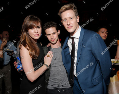 "Christa B. Allen, Connor Paolo and Gabriel Mann attend the after party for the Los Angeles premiere of Pantelion Films and Participant Media's ""Cesar Chavez"" at the at the Chinese Theatre, in Los Angeles"