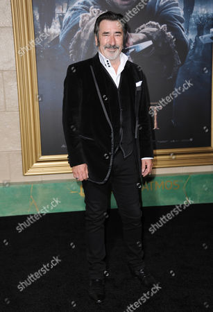 William Kircher arrives at the Los Angeles premiere of The Hobbit: The Battle Of The Five Armies at the Dolby Theatre on