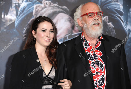 Stock Photo of Georgia Allen, left, and John Callen arrive at the Los Angeles premiere of The Hobbit: The Battle Of The Five Armies at the Dolby Theatre on