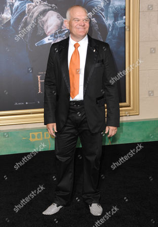 Mark Hadlow arrives at the Los Angeles premiere of The Hobbit: The Battle Of The Five Armies at the Dolby Theatre on