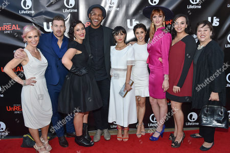 """Editorial picture of Premiere Party For """"UnReal"""", Beverly Hills, USA"""
