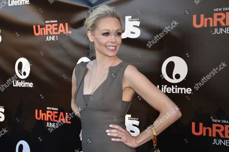Alexandra Holden arrives at Lifetime scripted series premiere of UnREAL at SIXTY Beverly Hills, in Beverly Hills, Calif