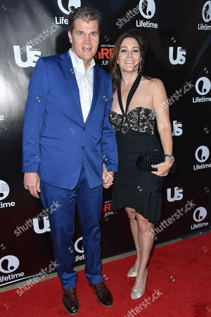 Clark Peterson, left, and Stacy Rukeyser arrive at Lifetimeâ?™s scripted series premiere of UnREAL at SIXTY Beverly Hills, in Beverly Hills, Calif