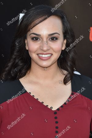 Aline Elasmar arrives at Lifetime's scripted series premiere of UnREAL at SIXTY Beverly Hills, in Beverly Hills, Calif