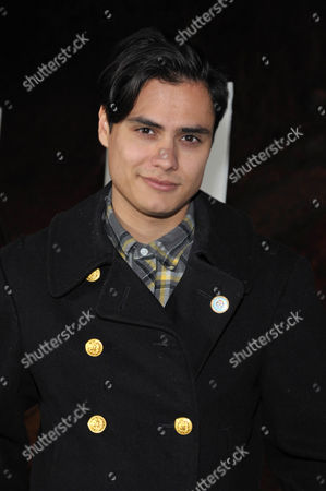 """Kiowa Gordon arrives at the premiere screening of SundanceTV's """"The Red Road"""", on in Los Angeles"""