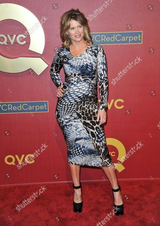 Kristy Swanson arrives at QVC Presents Red Carpet Style on Friday, Feb, 28, 2014 in Beverly Hills, Calif