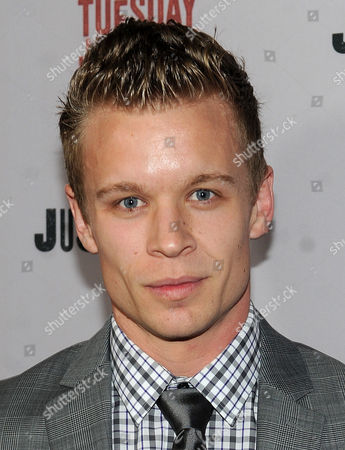 """Jesse Luken is seen at the Red Carpet Premiere Screening of FX's """"Justified,"""" on at the Directors Guild of America in Los Angeles, Calif"""