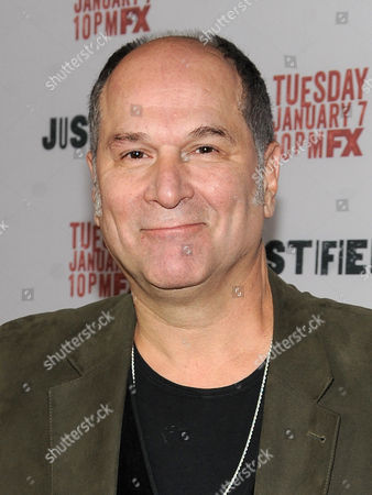 """John Kapelos is seen at the Red Carpet Premiere Screening of FX's """"Justified,"""" on at the Directors Guild of America in Los Angeles, Calif"""